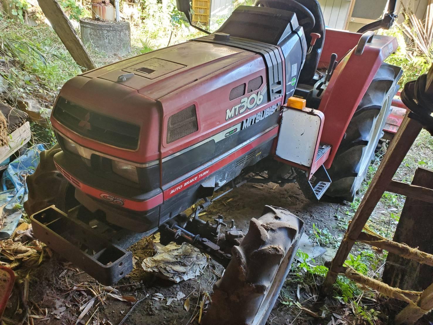 三菱 トラクター MT306
