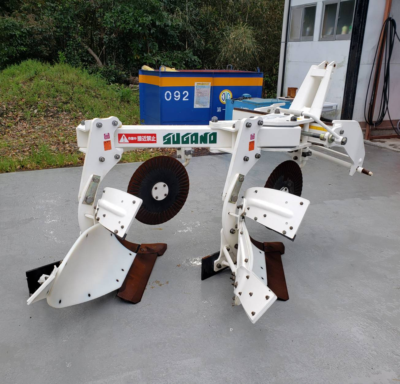 スガノ農機 ワンフェイプラウ QY202VC