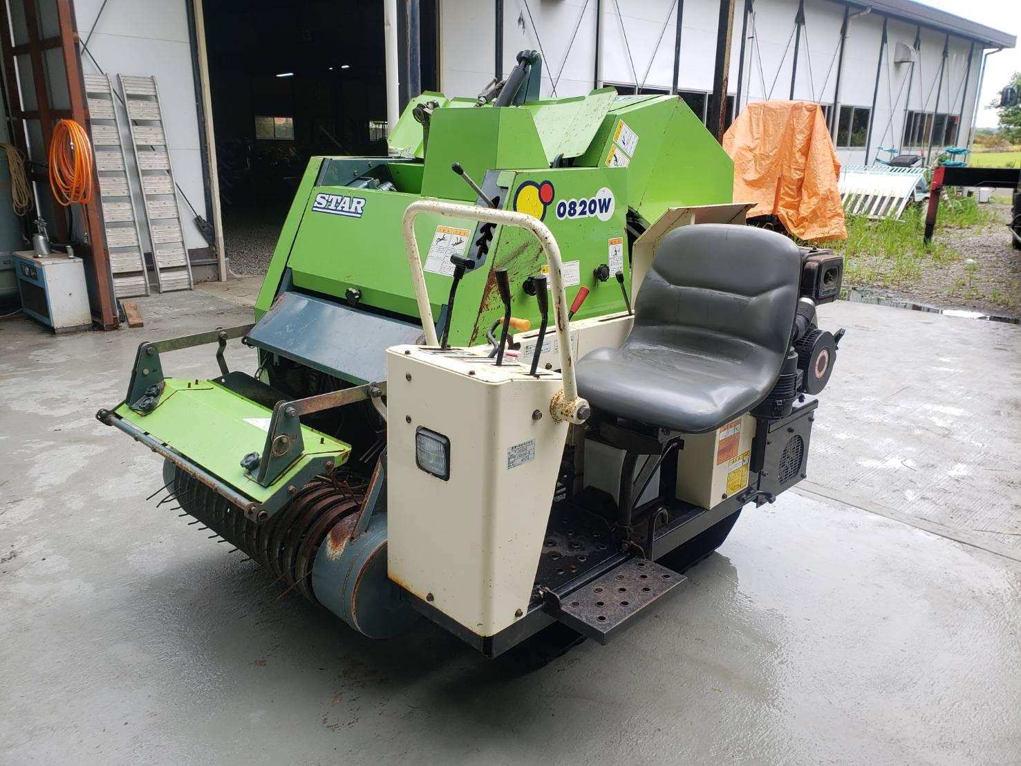 スター 自走ロールベーラー JCR0820WD