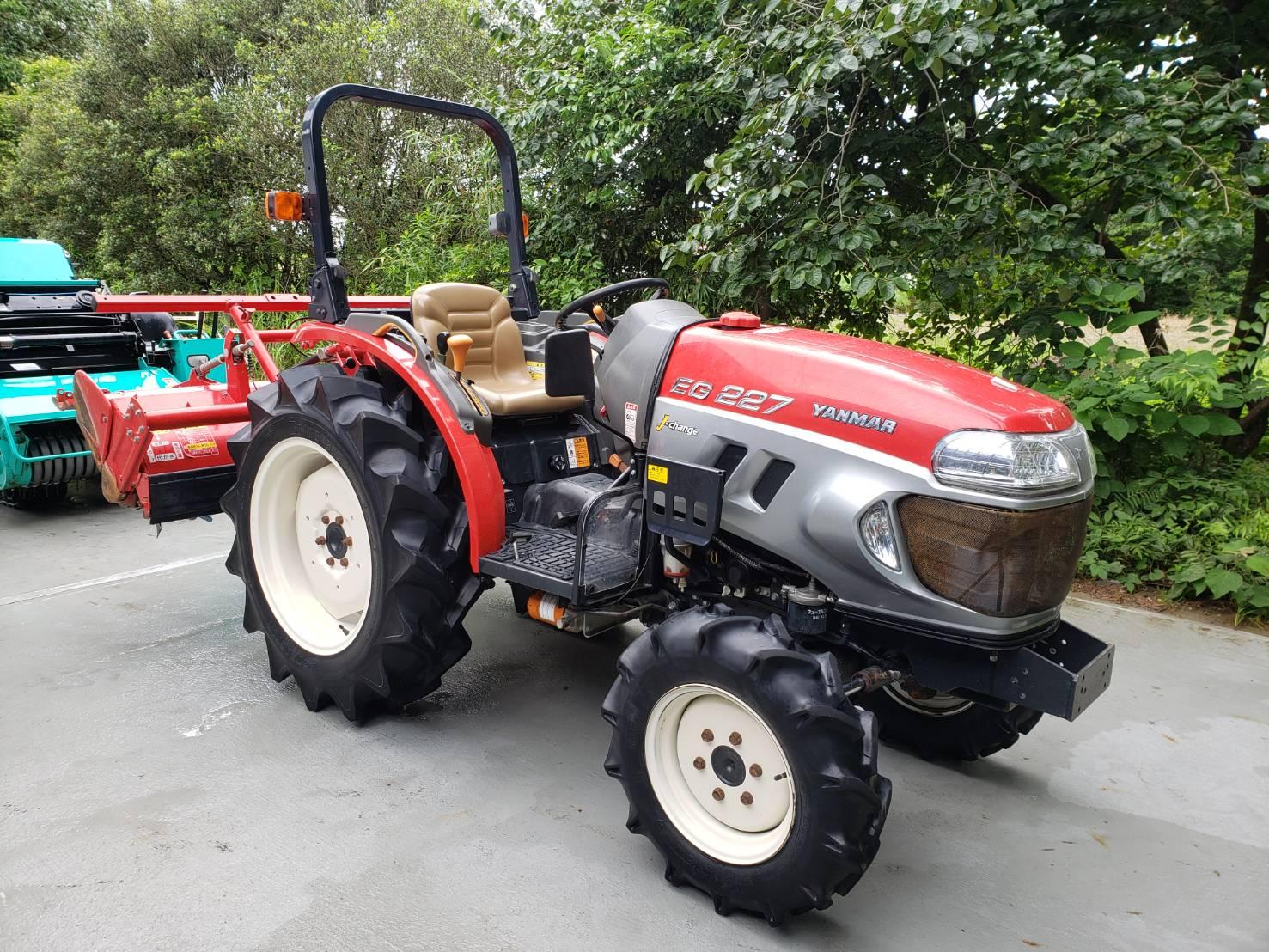 宮崎県ヤンマー トラクター EG227X