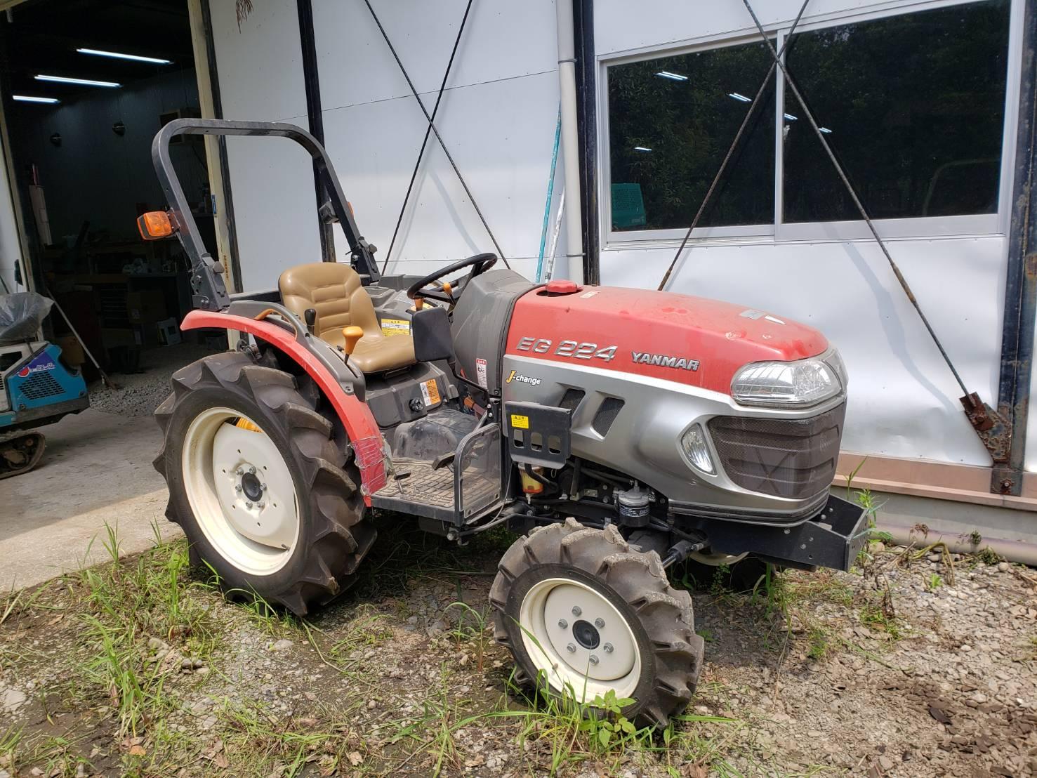 宮崎県ヤンマー トラクター EG224